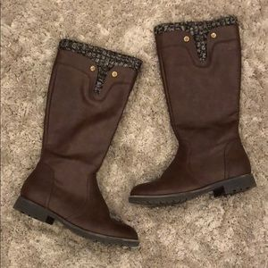 Olivia Miller Riding Boot with Sweater Detail